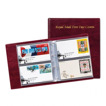 First Day Cover Album