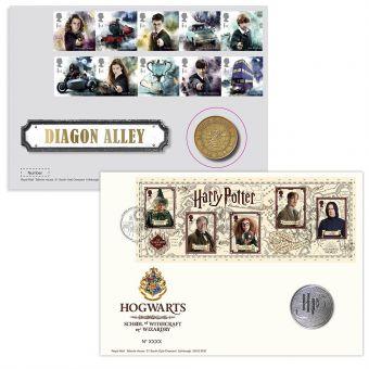 Harry Potter™ Hogwarts Medal Cover