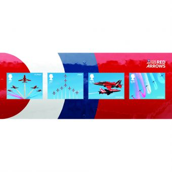 Royal Mail RAF Centenary Red Arrows Miniature Sheet