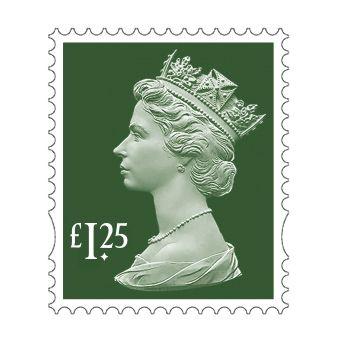 25 x £1.25 Stamp Sheet