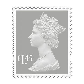 25 x £1.45 Stamp Sheet