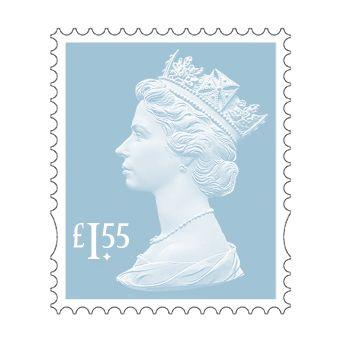 25 x £1.55 Stamp Sheet