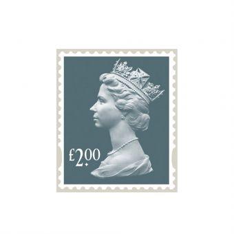 25 X £2.00 Self Adhesive Stamp Sheet