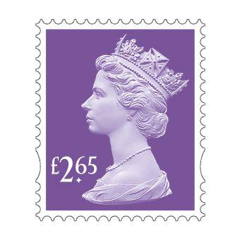 25 x £2.65 Stamp Sheet