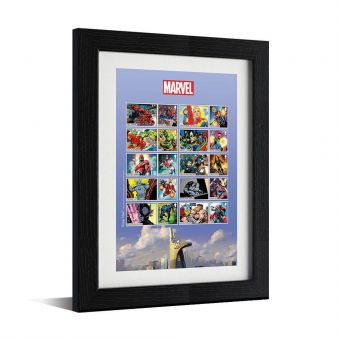 MARVEL Framed Collector Sheet