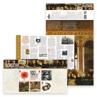 The First World War 1918 Presentation Pack