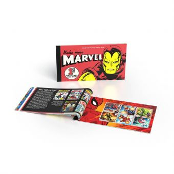 MARVEL Prestige Stamp Book