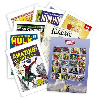 MARVEL Classic Comics Stamp Souvenir Folder