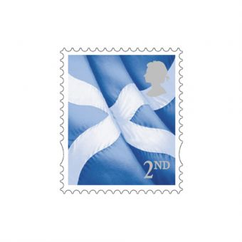 Scotland Country Definitive 2018 2nd Class Stamp