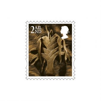 Wales Country Definitive 2nd Class Stamp