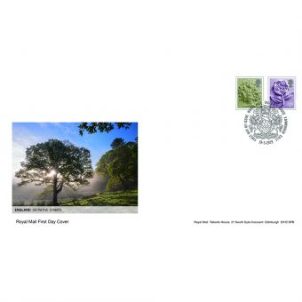 Definitives 2019 England Country Definitives First Day Cover Tallents House