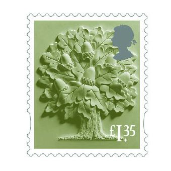 Definitives 2019 England Country Definitive £1.35 Stamp