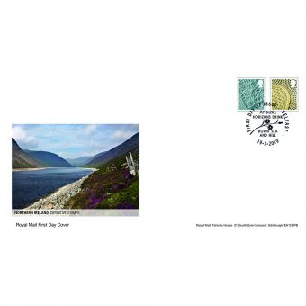Definitives 2019 Northern Ireland Country Definitives First Day Cover Belfast