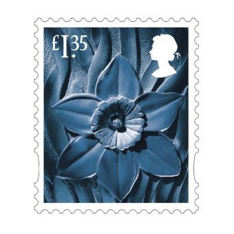 Definitives 2019 Wales Country Definitive £1.35 Stamp
