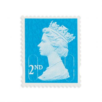 Royal Mail 100 X 2nd Class Self Adhesive Stamp Sheet
