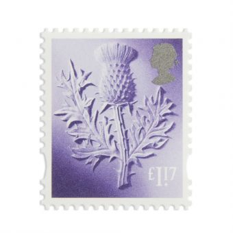 Ss025 New Definitives 2017 Country Definitives Scotland Stamp 1.17