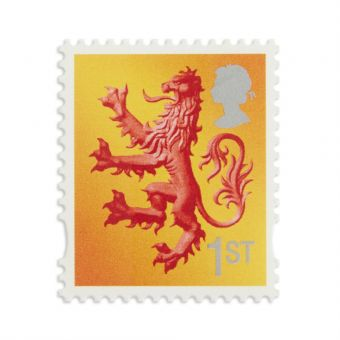 Ss028 Scotland Country Definitive 2018 First Class Stamp
