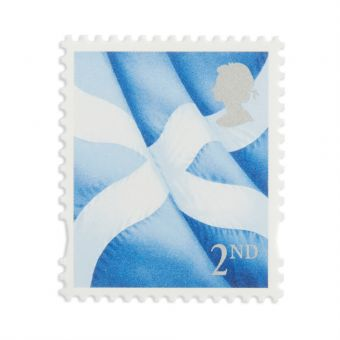 Ss501 1 X 2nd Scotland Stamp