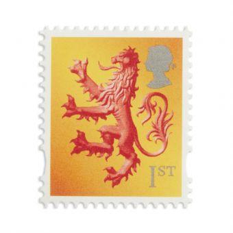 Ss601 1 X 1st Scotland Stamp