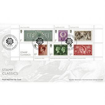 Stamp Classics Miniature Sheet