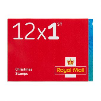 Royal Mail Christmas 2017 12x 1st Class Stamp Book