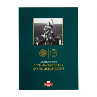 Royal Mail Lisbon Lions Sheet and Folder 1