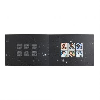 Va295 Royal Mail Star Wars 40th Anniversary Souvenir Folder 1
