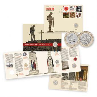 Royal Mail The First World War 1918 Stamp Souvenir