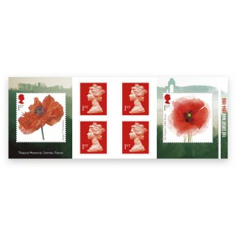Royal Mail First World War 1918 Mint Stamps