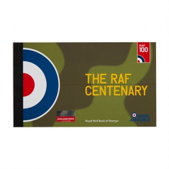 Royal Mail Raf Centenary Standard Prestige Stamp Book