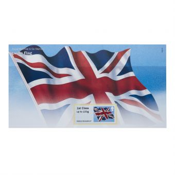 Royal Mail Post and Go Union Flag Stamp