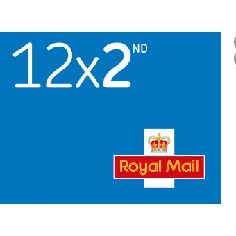 Royal Mail 12 X 2nd Class Stamp Book