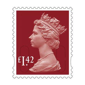 25 x £1.42 Stamp Sheet