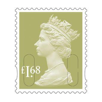 25 x £1.68 Stamp Sheet