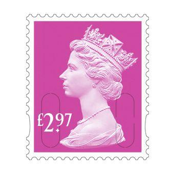 25 x £2.97 Stamp Sheet