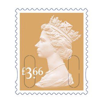 25 x £3.66 Stamp Sheet