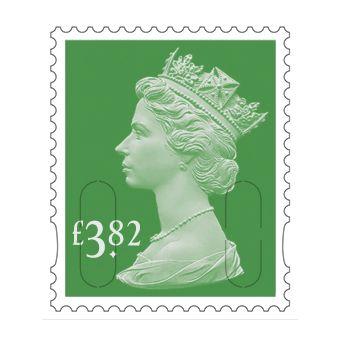 25 x £3.82 Stamp Sheet