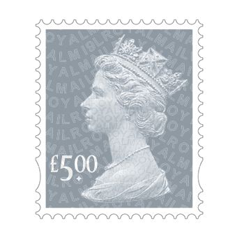 Definitives 2019 - Machin £5 non visible change printed by Walsall (International Security Printers)