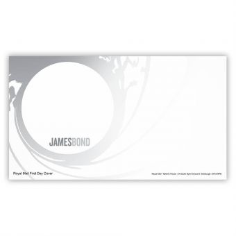 James Bond First Day Envelope