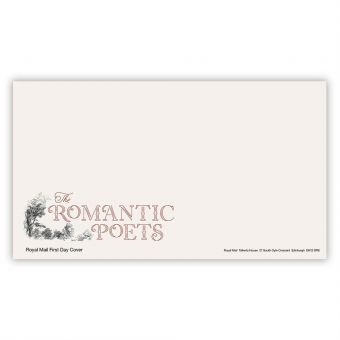 The Romantic Poets First Day Envelope