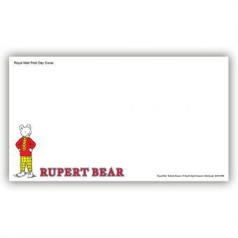 Rupert Bear First Day Envelope