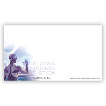 Classic Science Fiction First Day Envelope