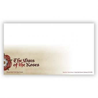The Wars of the Roses First Day Envelope