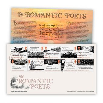 The Romantic Poets First Day Cover (Tallents House)