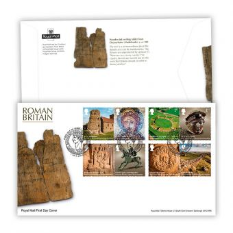 Roman Britain First Day Cover (Colchester Postmark)