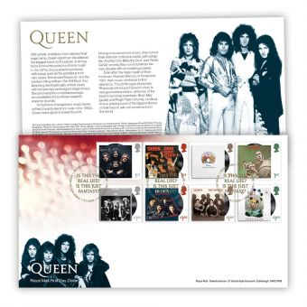 Queen First Day Cover (Tallents House)