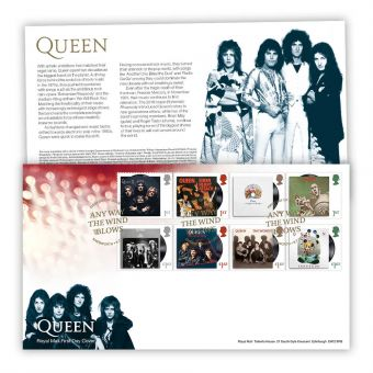 Queen First Day Cover (Knebworth)