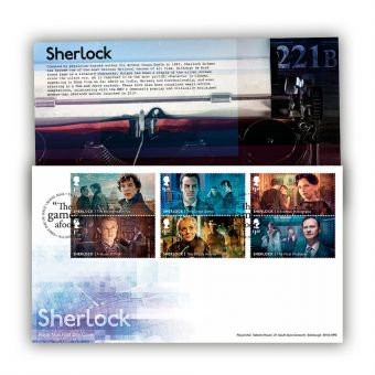 Sherlock First Day Cover (Tallents House Postmark)