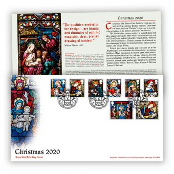 Christmas 2020 First Day Cover with Bethlehem, Llandeilo Postmark