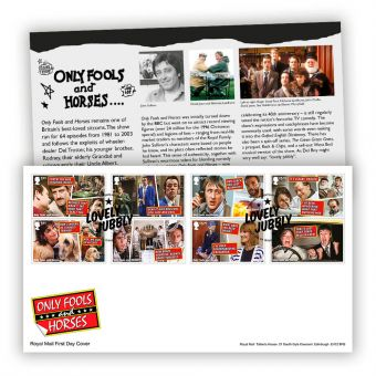 Only Fools and Horses First Day Cover (Tallents House Postmark)